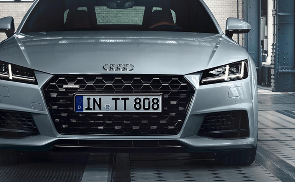 Audi TT Special Edition front bumper