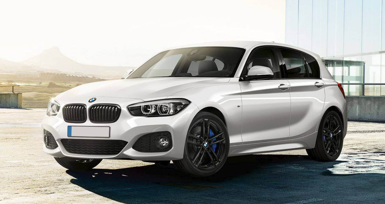 BMW 1 Series Shadow Edition in White