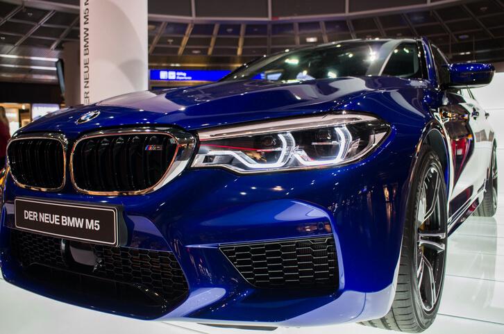 BMW M5 Frankfurt