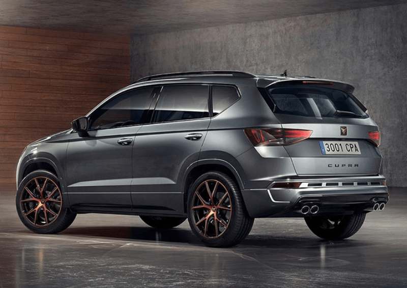 CUPRA Ateca side