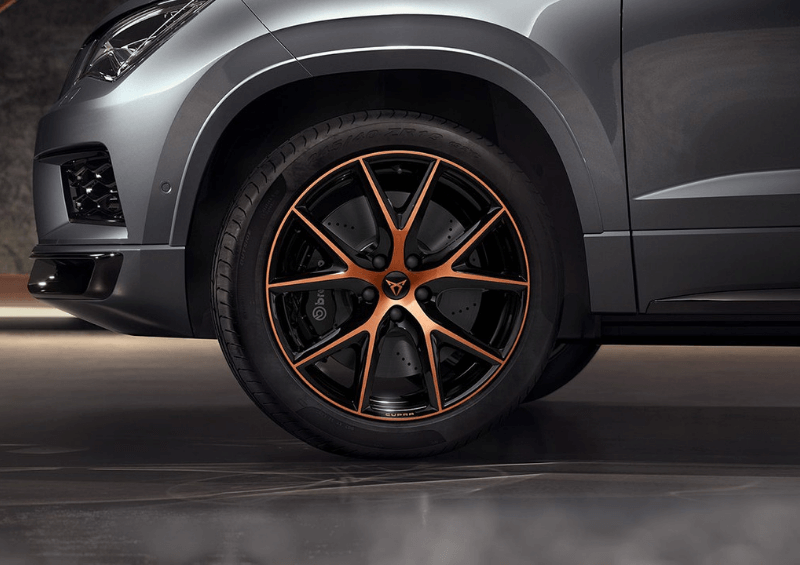 CUPRA Ateca wheel