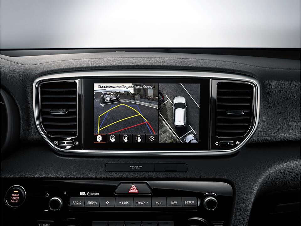 Kia Sportage screen