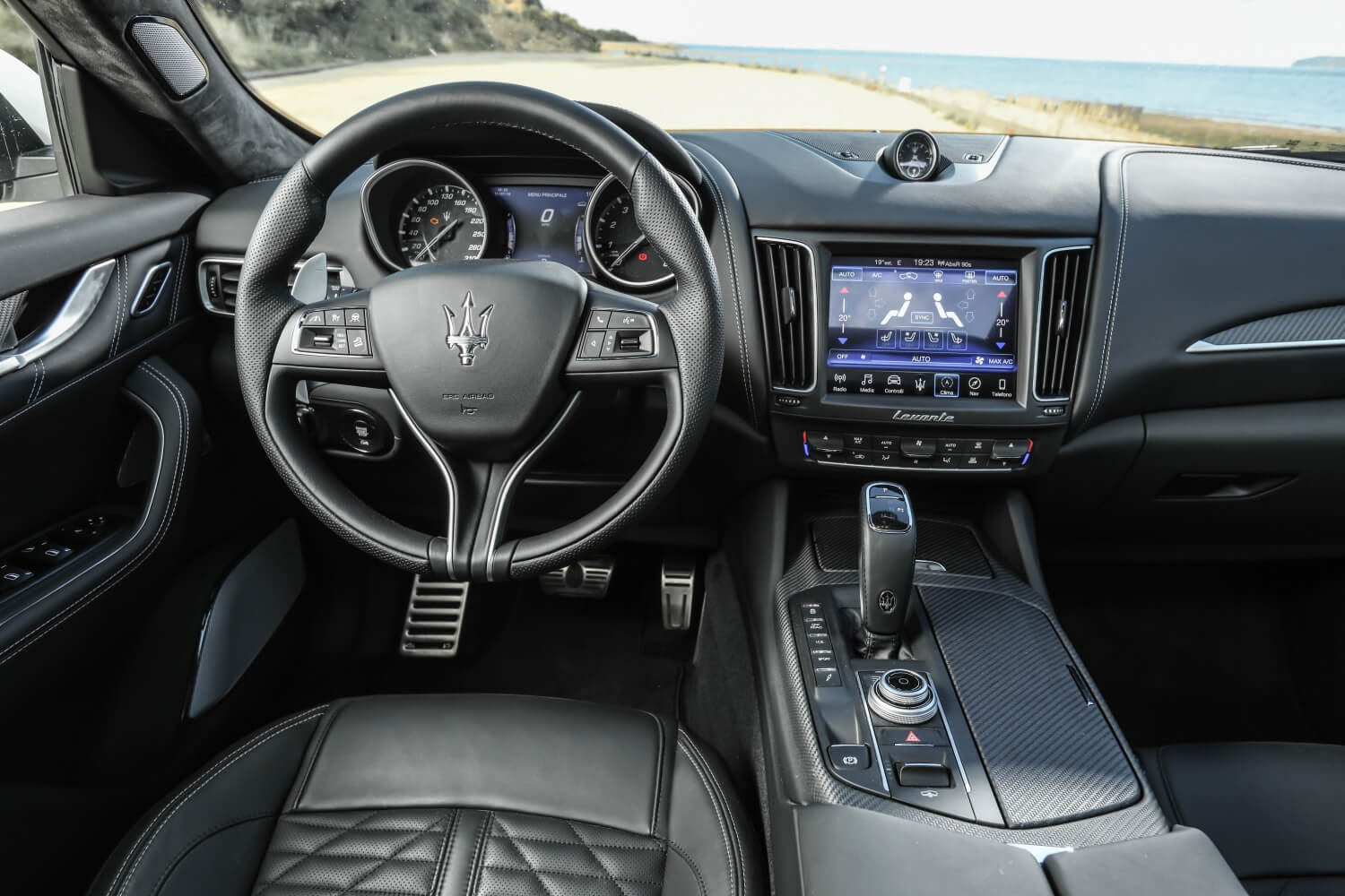 Maserati Levante GranSport Interior