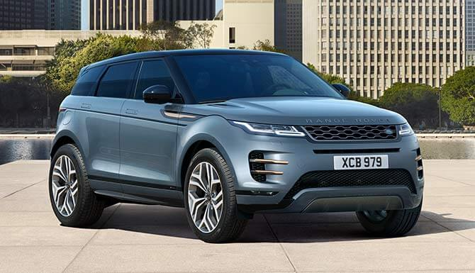 land rover 39 s new range rover evoque 2019 complete leasing. Black Bedroom Furniture Sets. Home Design Ideas
