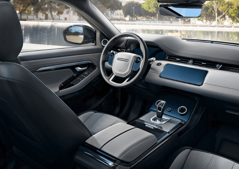 New 2019 Evoque interior