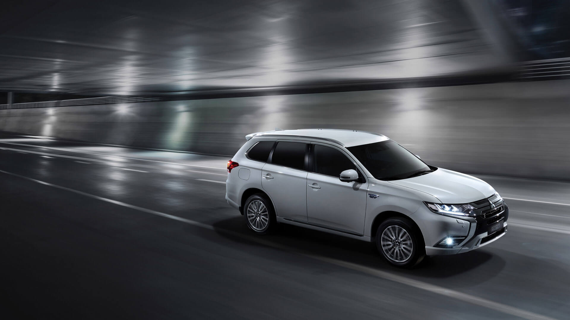 Outlander PHEV in white