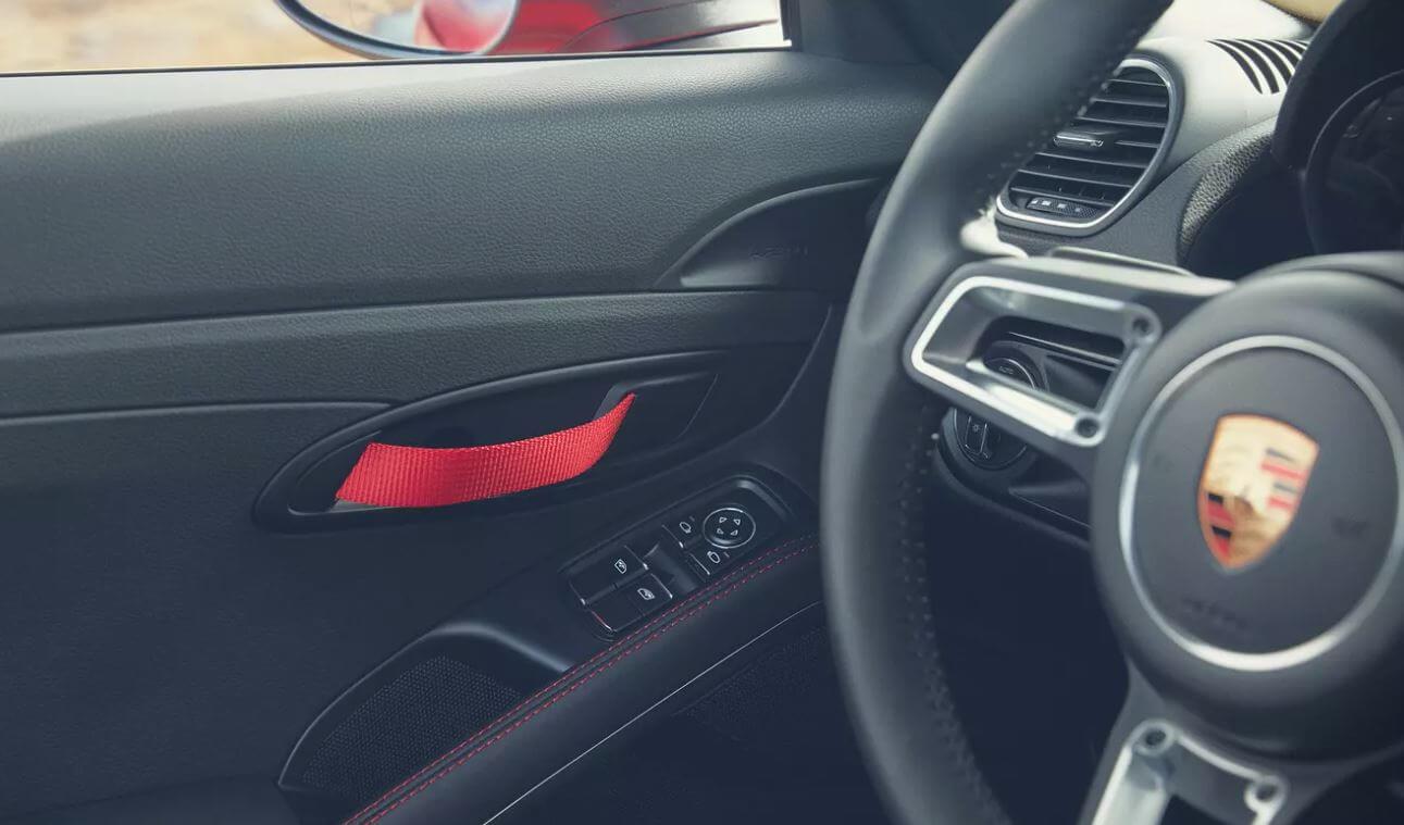 Porsche 718 Cayman T door handle