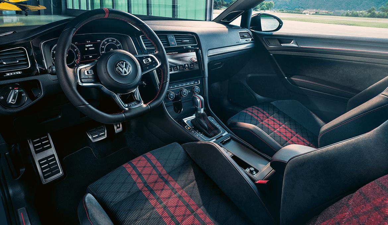 Golf GTI TCR interior