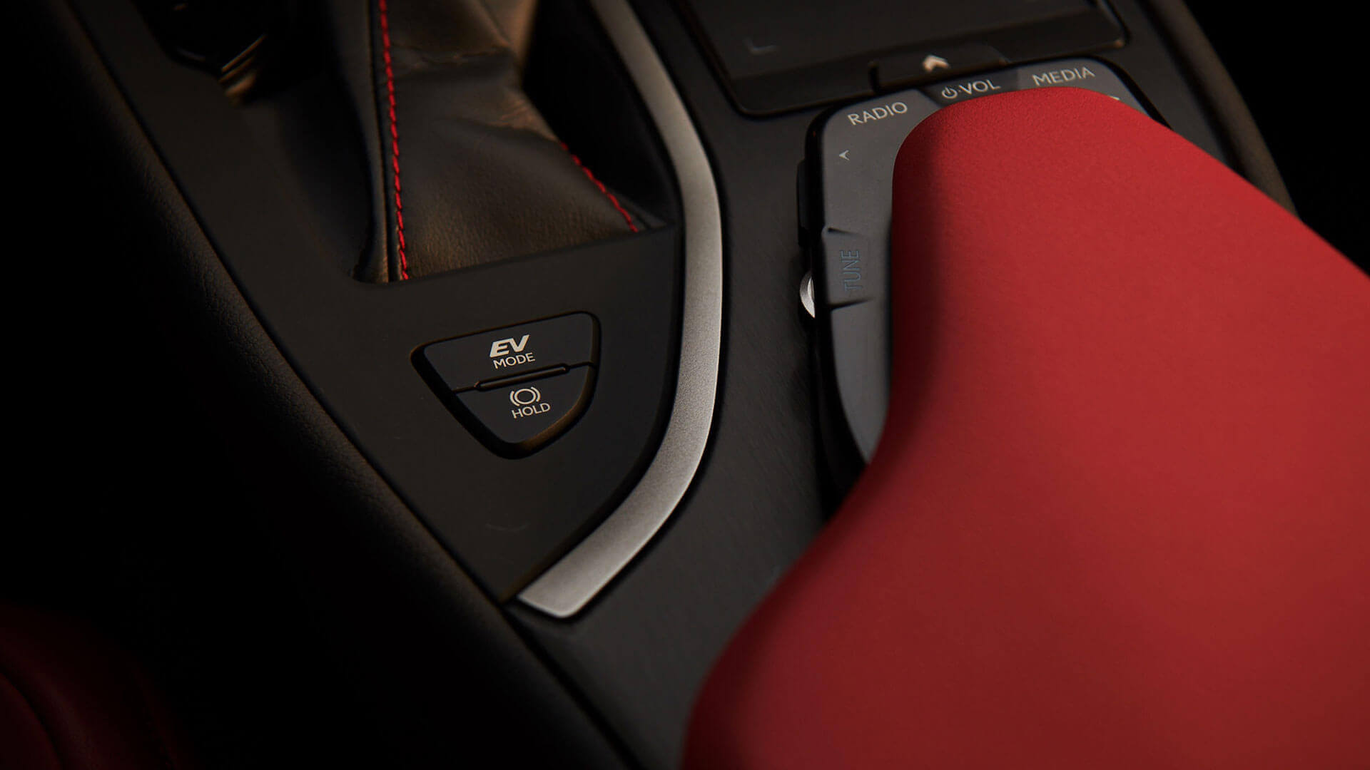 Lexus UX touchpad