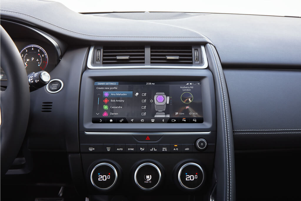 E-Pace smart settings