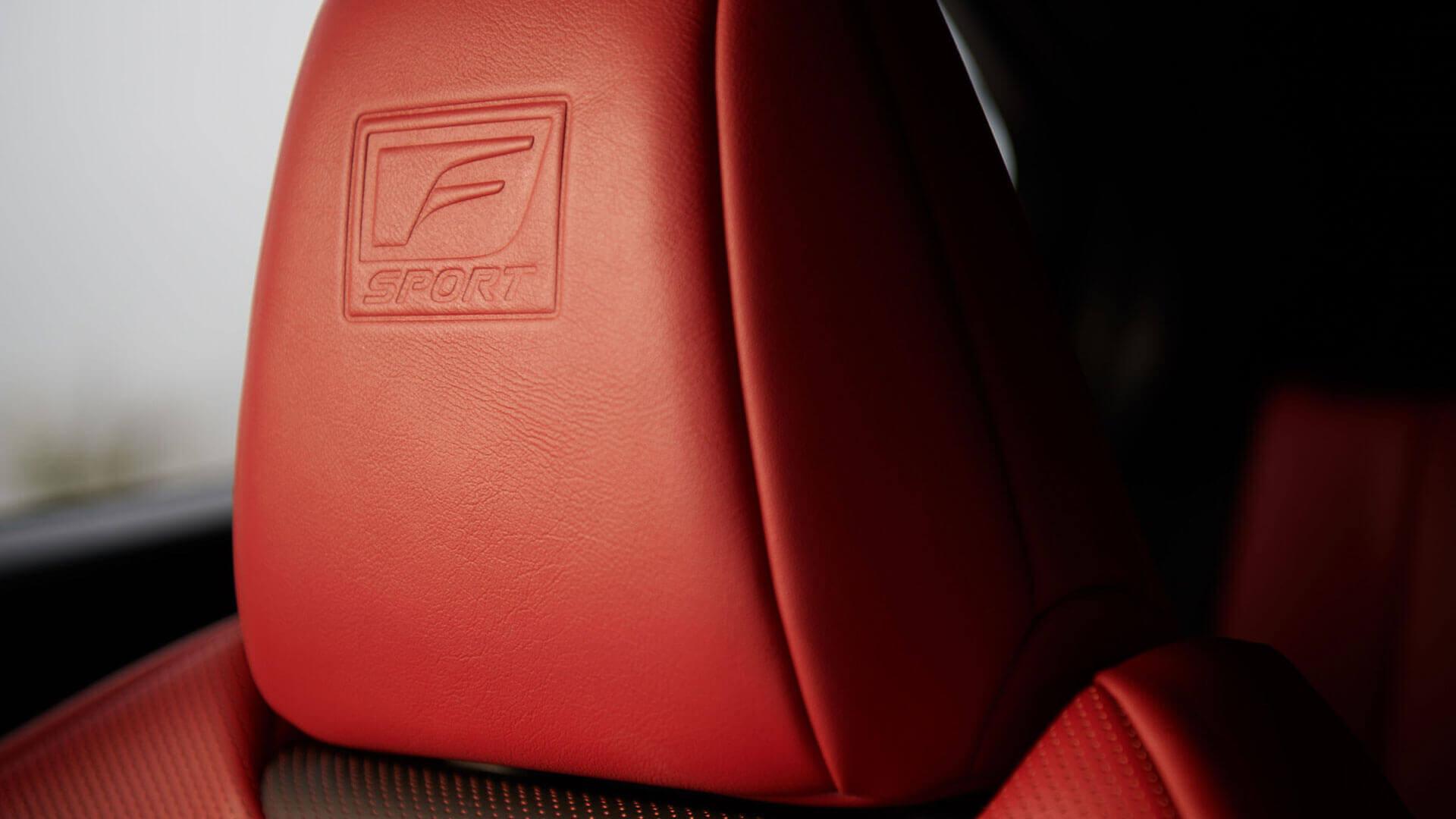 Lexus F-Sport seat