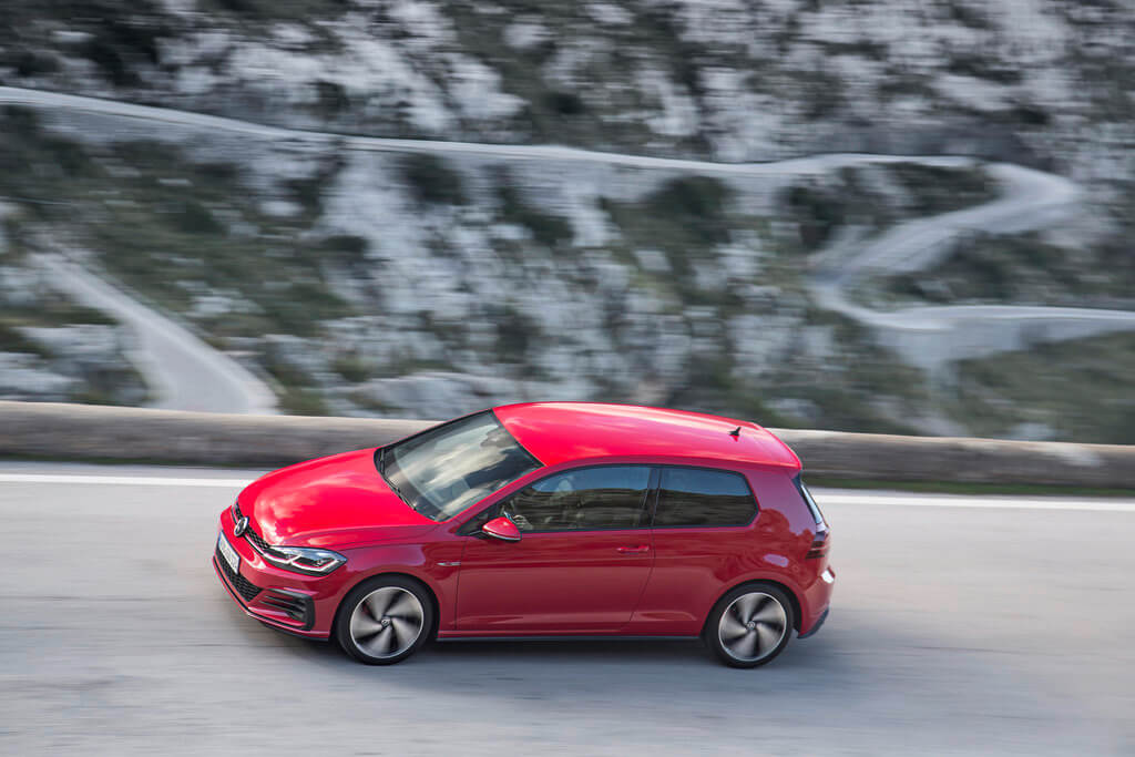 Golf GTI in red