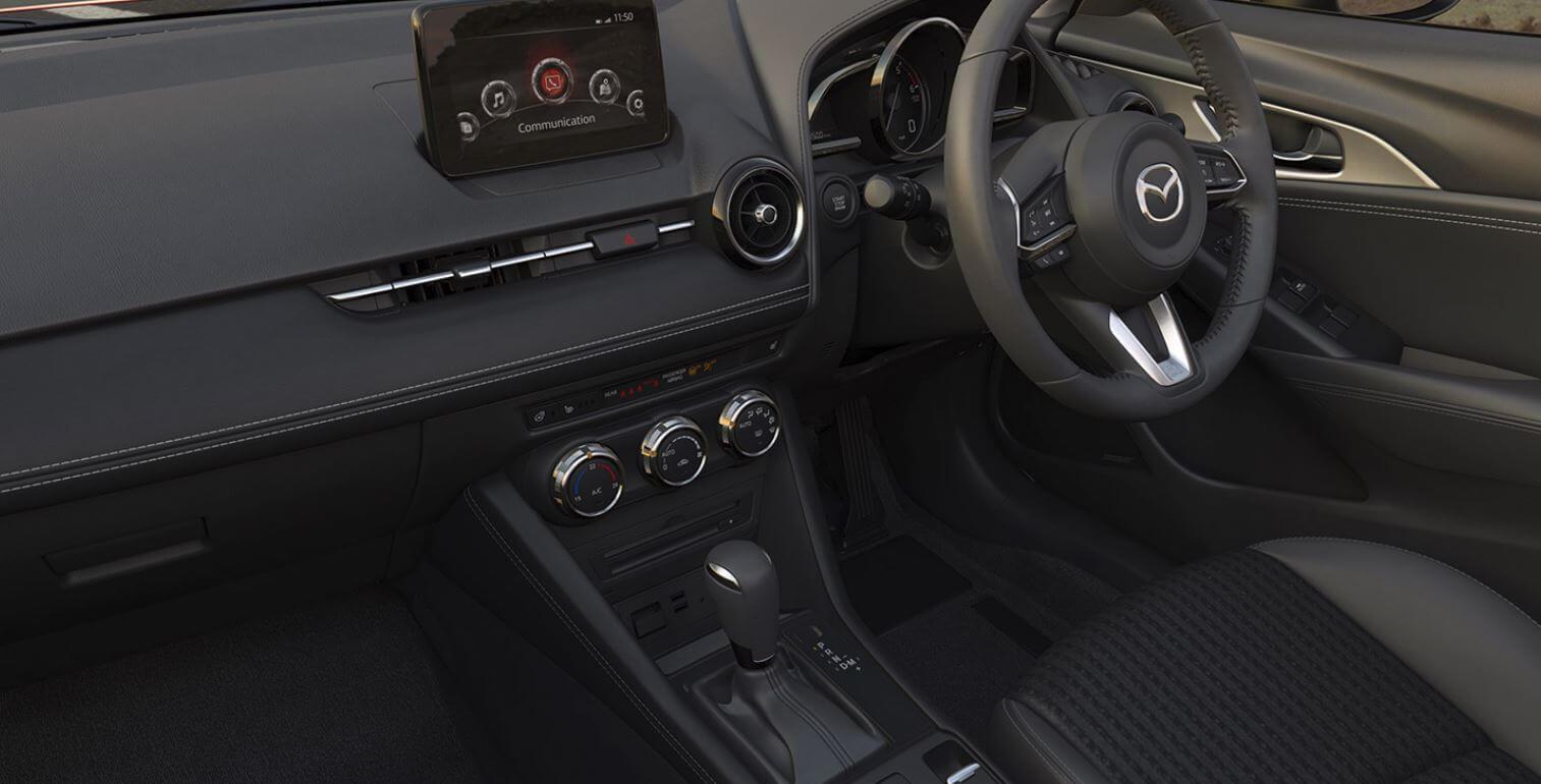 CX-3 interior