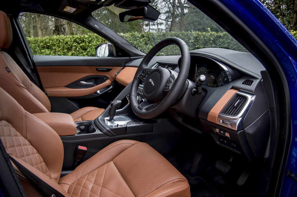 Jaguar E-Pace D180 Interior option