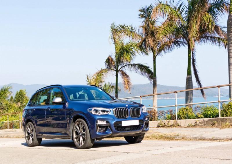 BMW X3 abroad
