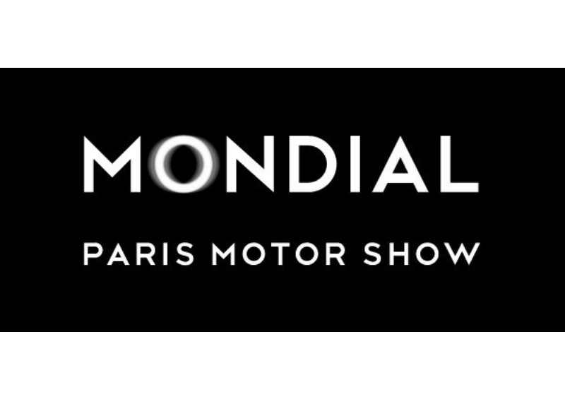 Mondial Paris Motor Show sign