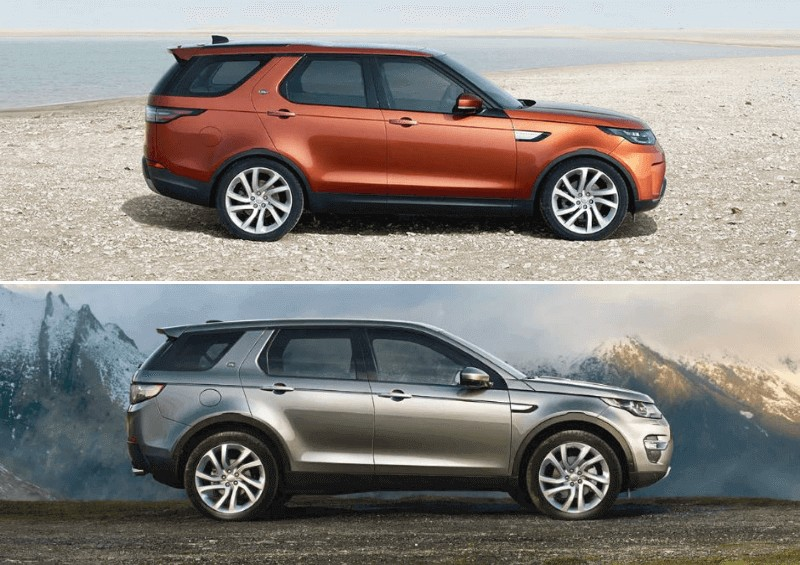 Range Rover Discovery and Discovery Sport